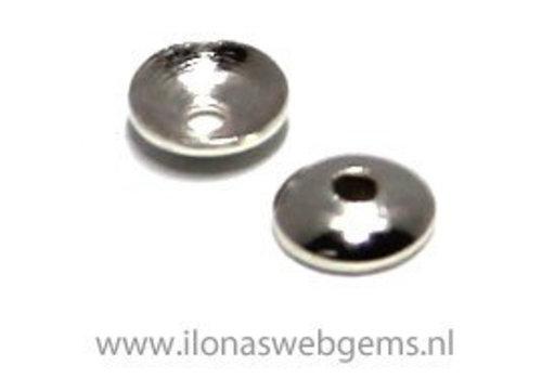 1 Stück Sterling Silber Kugelkappe ca. 3mm
