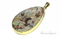 Gold plated hanger met Rioliet