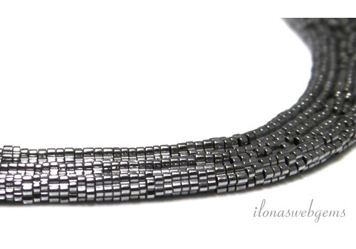 Hematite beads about 4x1mm