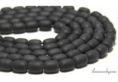 Onyx beads mat approx. 13x11mm
