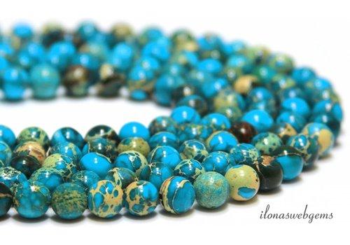 Imperiale Jasper Perlen etwa 8 mm