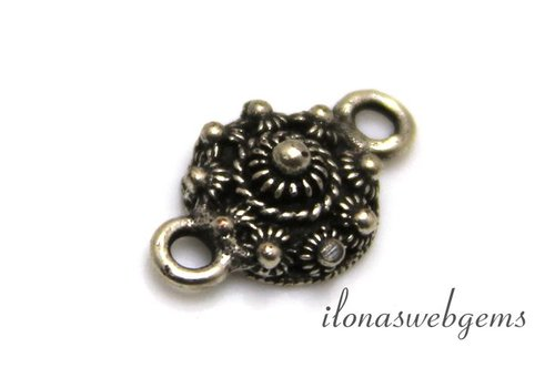 Zeeuwse button silvered