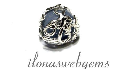1 925/000 Silber Perlenkap ca. 13.5mm