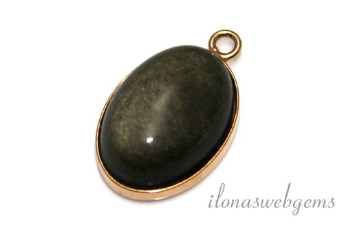 Inspiration pendant with cabochon oval