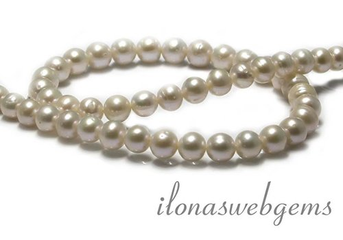 1 piece Freshwater Pearl Cream approx 8mm