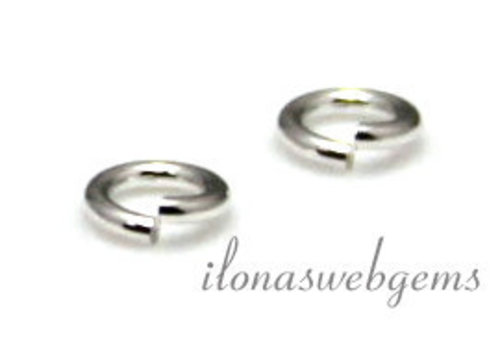 Sterling Silber Auge offen 10x1mm