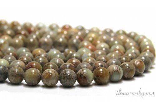 Serpentine beads around 10mm