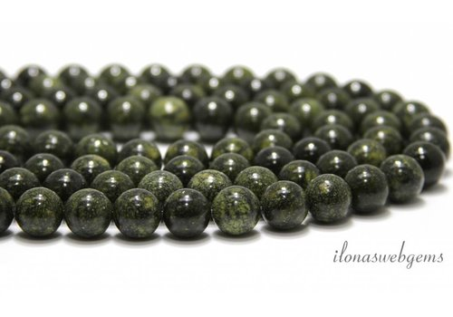 Serpentine beads around 10mm