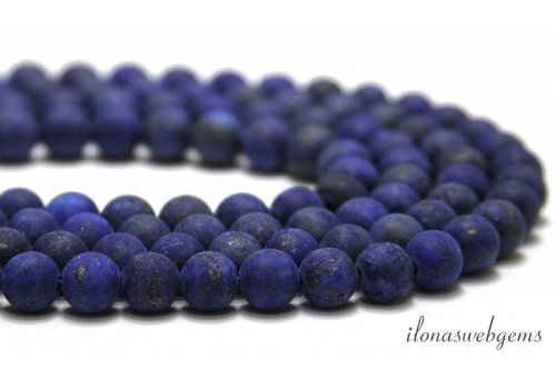 Lapis Lazuli beads mat around 8mm