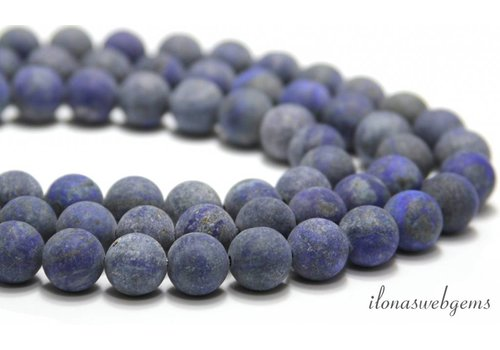 Lapis Lazuli beads mat around 12mm