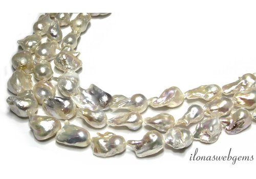 Baroque / Baroque pearls approx 17-26x13mm