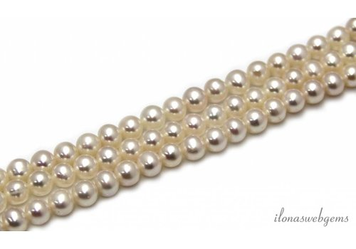 Freshwater pearls approx. 6mm AA + quality