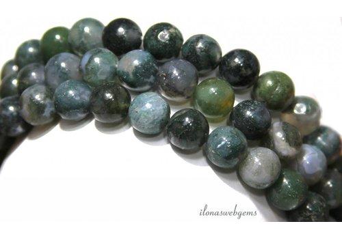 Moss Achat Perlen ca. 10mm