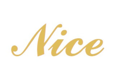 Vermeil Namensanhänger Nice