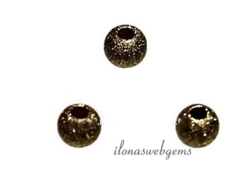 1 piece Gold filled stardust bead