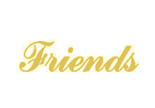 Vermeil Name Pendant Friends