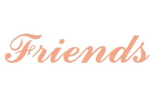 Rosé Vermeil naamhanger Friends