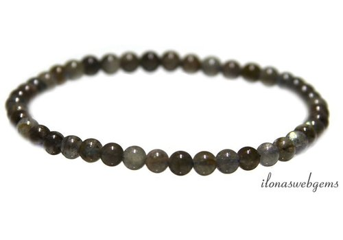 Labradorit Perlen Armband um 4,7 mm