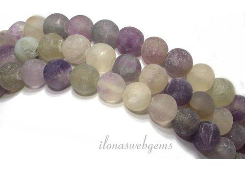 Fluorite beads mat around 6mm