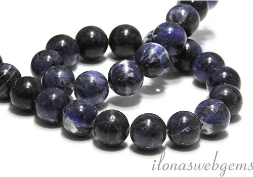 Sodalite beads around about 12.5mm - Copy