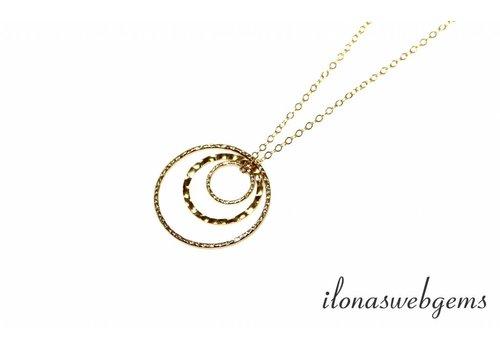 Inspiration Halskette: Goldfilled Fantasy Augen