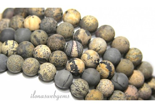 Artic Jasper beads mat around 8mm
