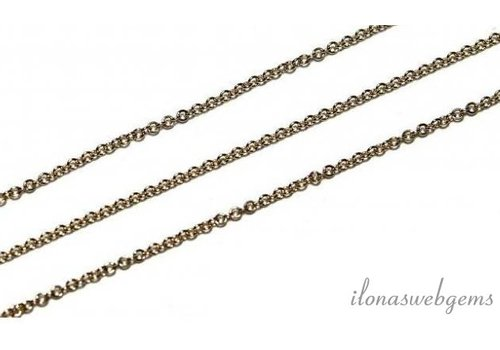 10 cm 14k / 20 Gold filled links / chain 1.2mm
