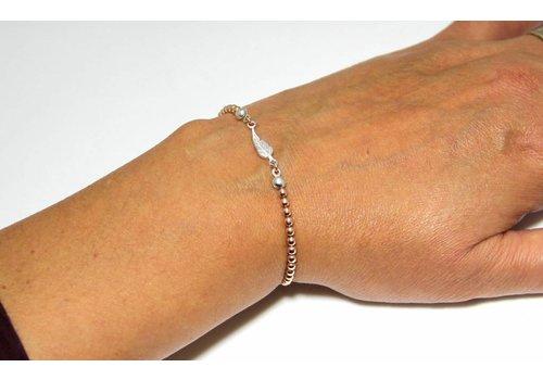 Inspiratie Armband: Rosé Vermeil elastisch ketting!