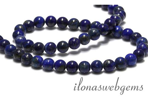 Lapis lazuli beads around 6mm