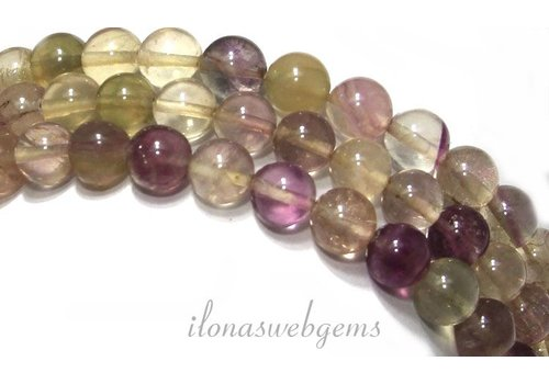 Fluorite beads around 6mm