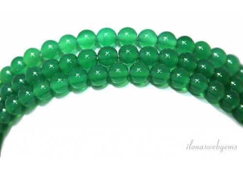 Green onyx beads around 6mm