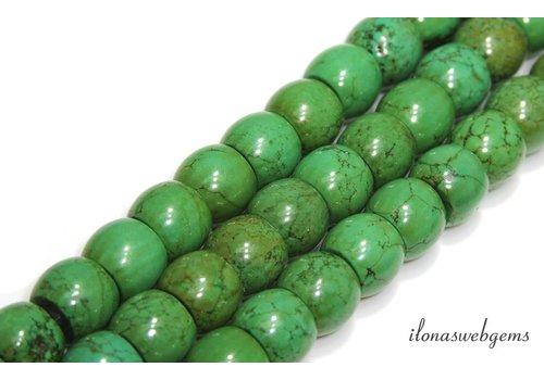 Türkisfarbenen Perlen Rondelle ca.16x13mm