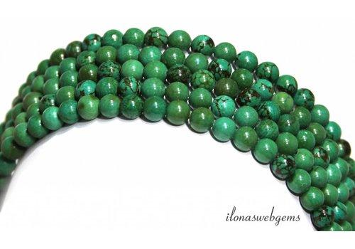 Türkisfarbenen Perlen ca.6mm