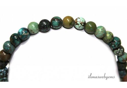 Türkisfarbenen Perlen über 8.8mm