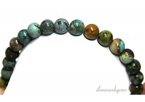 Türkisfarbenen Perlen ca. 10.4mm