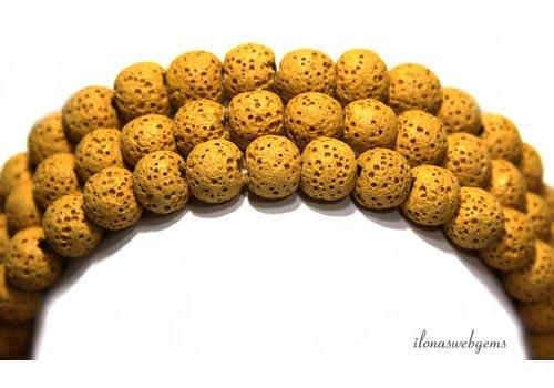 Lava rock beads around 10mm
