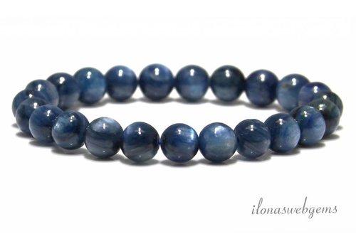 Kyanite Perlen etwa 7,5 mm AA Qualität