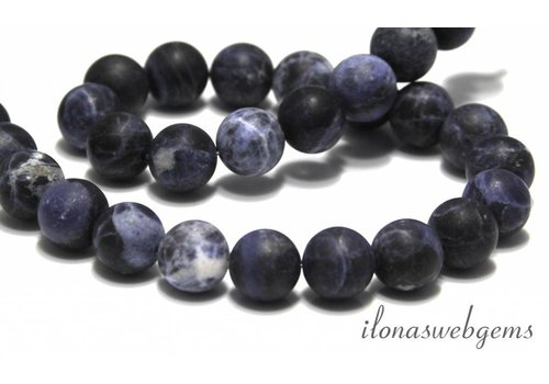 Sodalite beads mat around 10mm