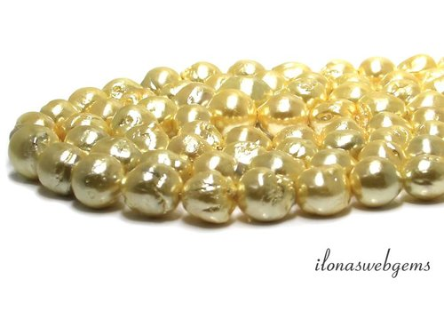 Baroque / Baroque pearls approx. 20x19mm