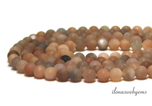 Sunstone beads mat around 8mm