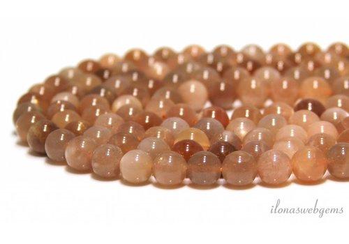 Sunstone beads around 8mm