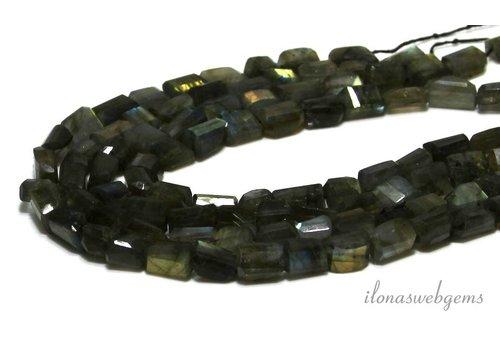 Labradorite beads free shape ca. 11x8mm