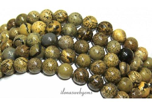 Arctic Jasper beads around 8mm