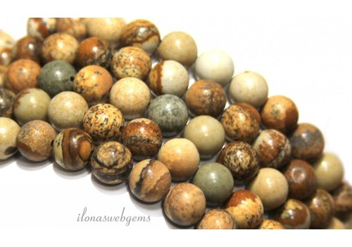 Desert Jasper beads around 14mm