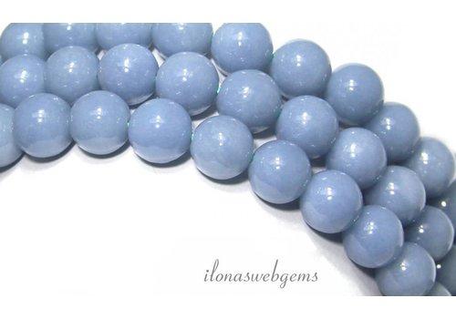 Angelite Perlen etwa 8mm
