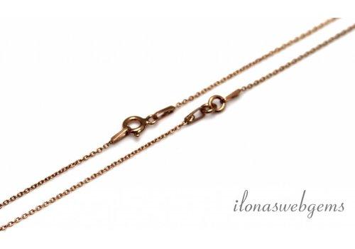 Rose Vermeil Halskette 2 Stück