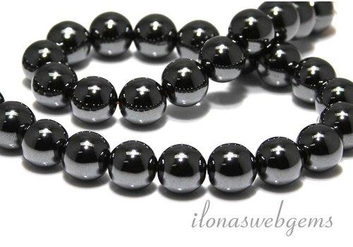 Hematite beads around 12mm A quality