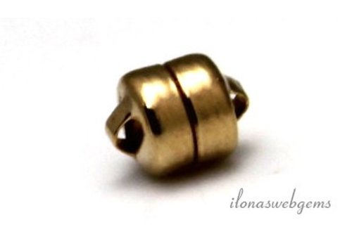 Gold filled magneetslotje ca. 5.5mm