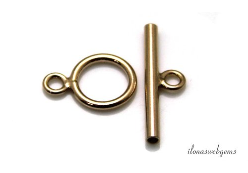 Vermeil toggle clasp approx. 14mm