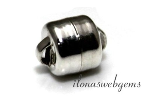 Sterling Silber Magnetverschluss etwa 6 mm